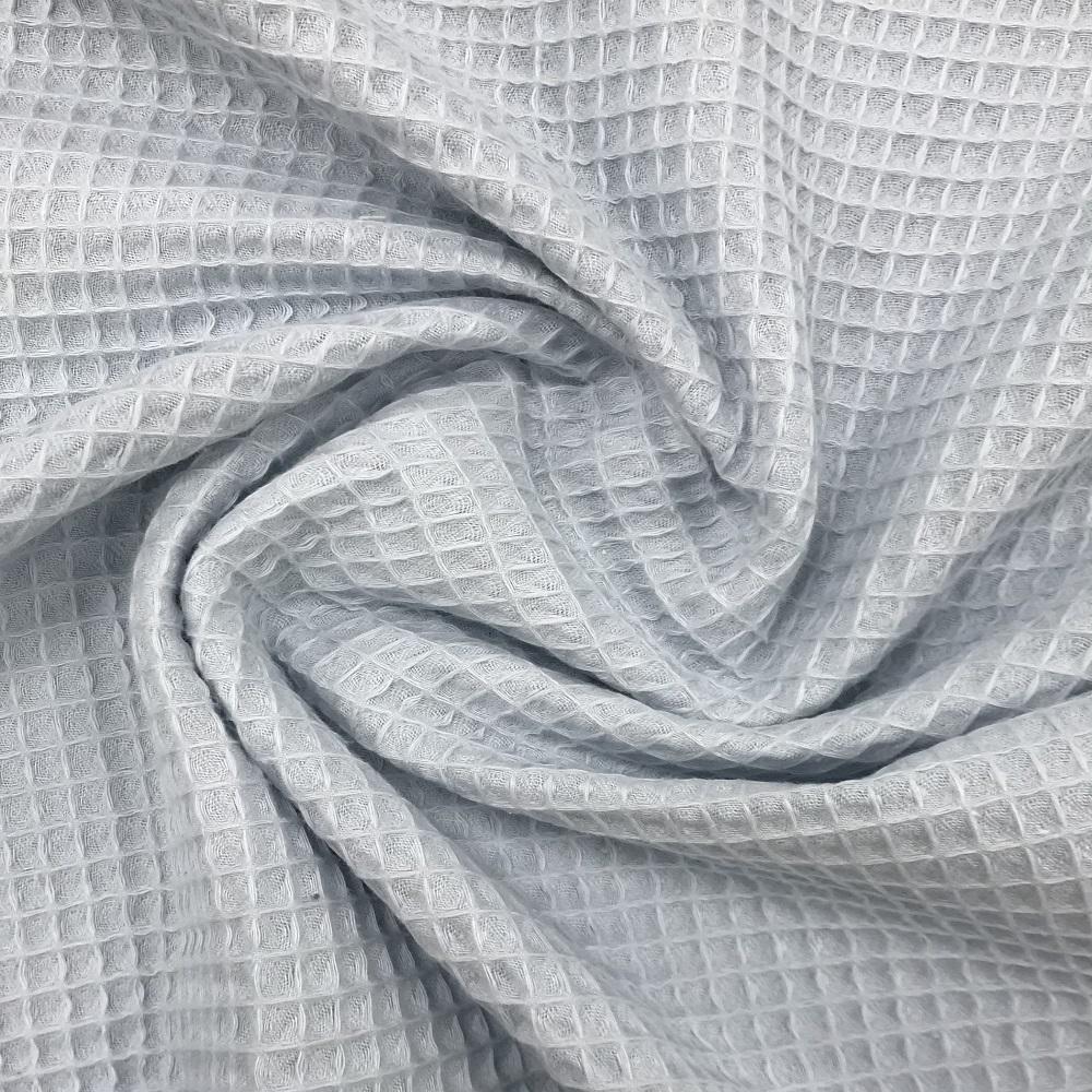 Baumwolle Waffelpiqué, hellblau. Art. 9385/1001