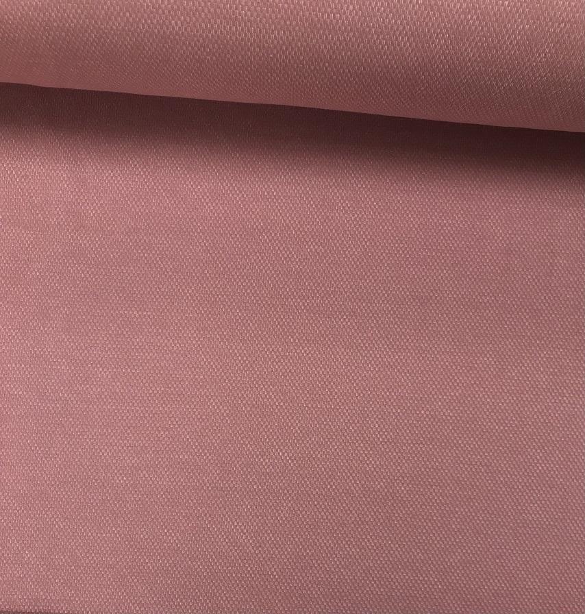 Jacquard Sweat, angeraut, uni rosa meliert. Art. 4807/1313