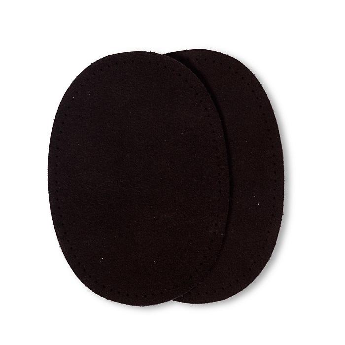 Patches Veloursleder, zum Aufnähen, 10 x 14cm, braun. Art. 929352