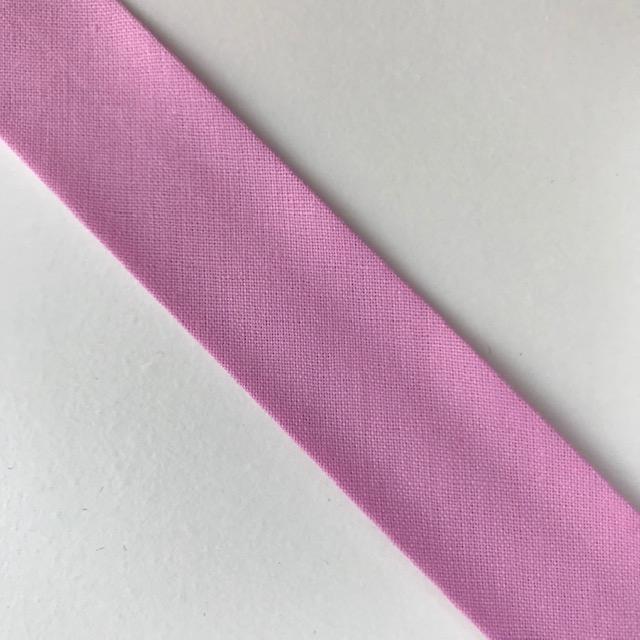 Baumwollpopeline - Schrägband, rosa. Art. SW11665
