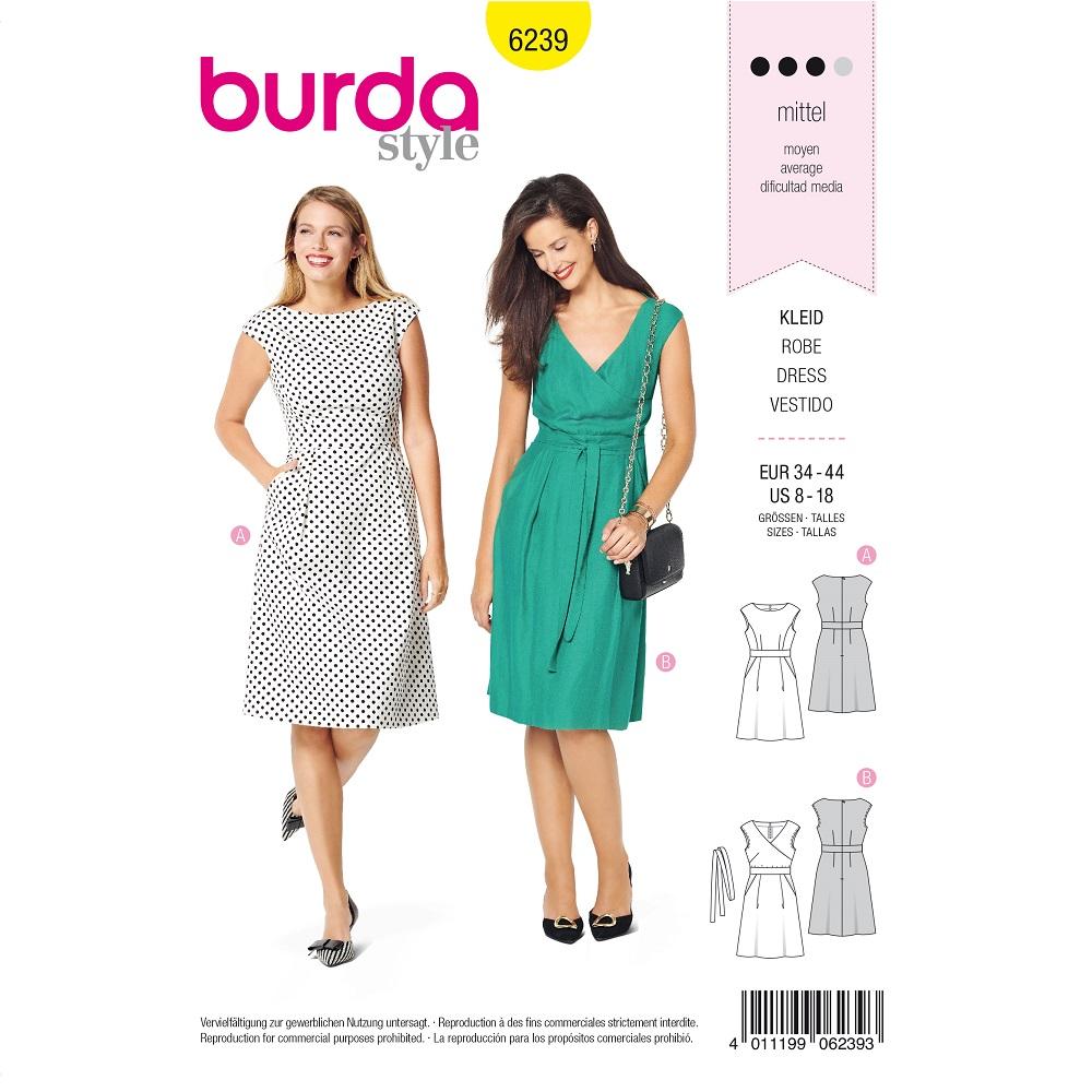 A-Linien-Kleid, Wickelkleid F/S 2020 #6239