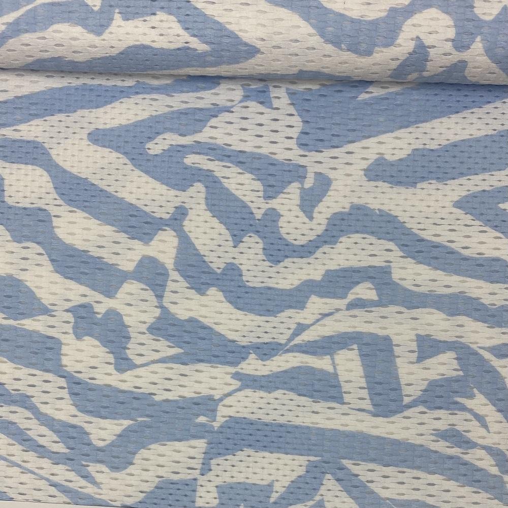 Baumwollstoff, Blue Royal. Design-Linie.  Art.S-1336-318