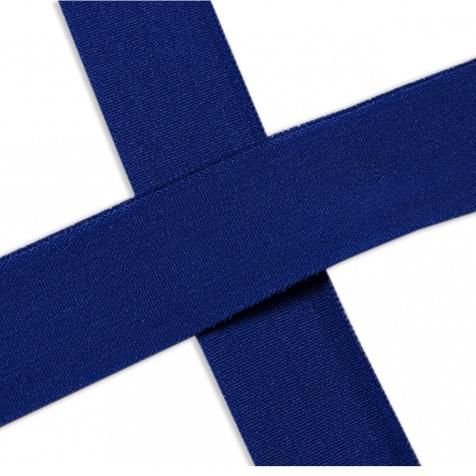 Elastisches Einfassband , matt -cobalt. Art.13-020-507
