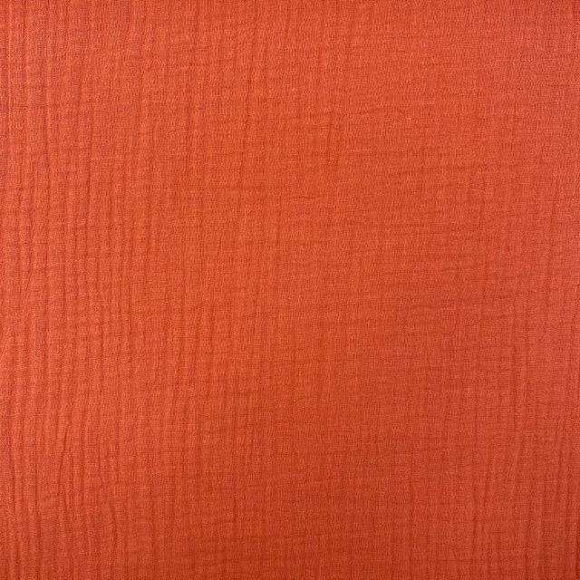 Baumwoll Musselin Triple Gauze, pfirsich. Art. 8290-014