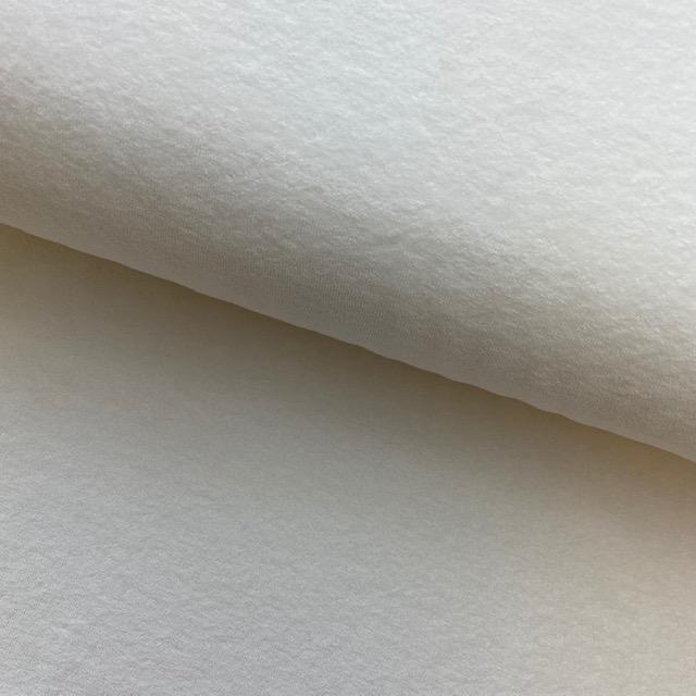 Frottee-Stretch, ecru. Art. 02551.002